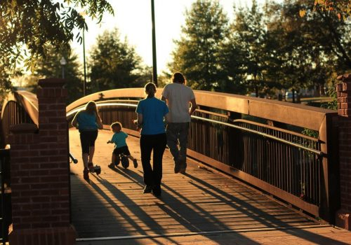 quality of life family stroll