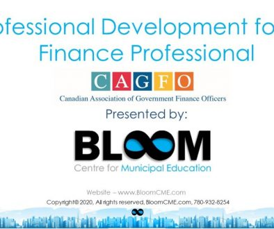 Bloom - Finance Professional Development Program