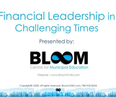 Bloom - Financial Leadership in Challenging Times