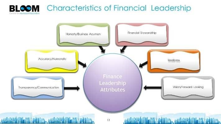 Characteristics of Financial Leadership