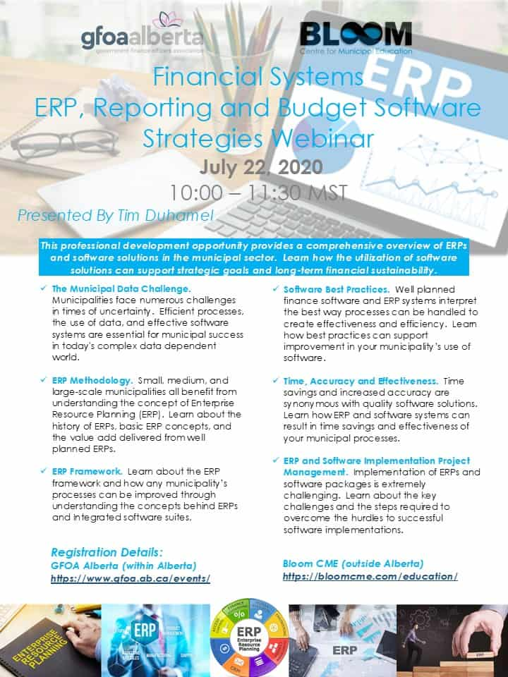Financial Systems - ERP and Reporting
