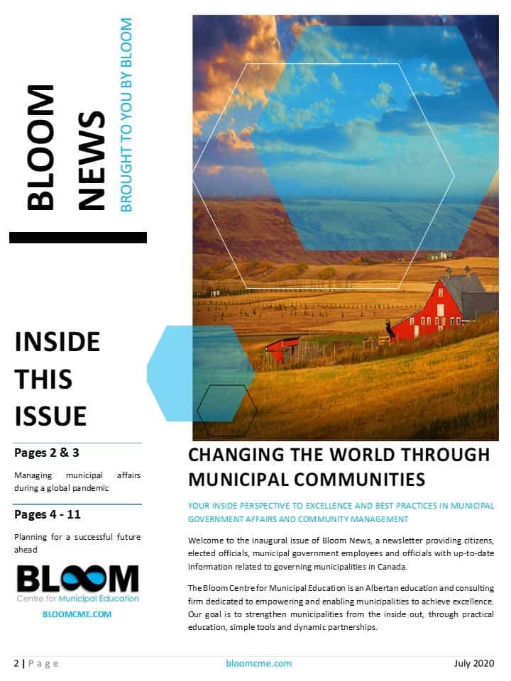 Bloom News - July 2020 Edition