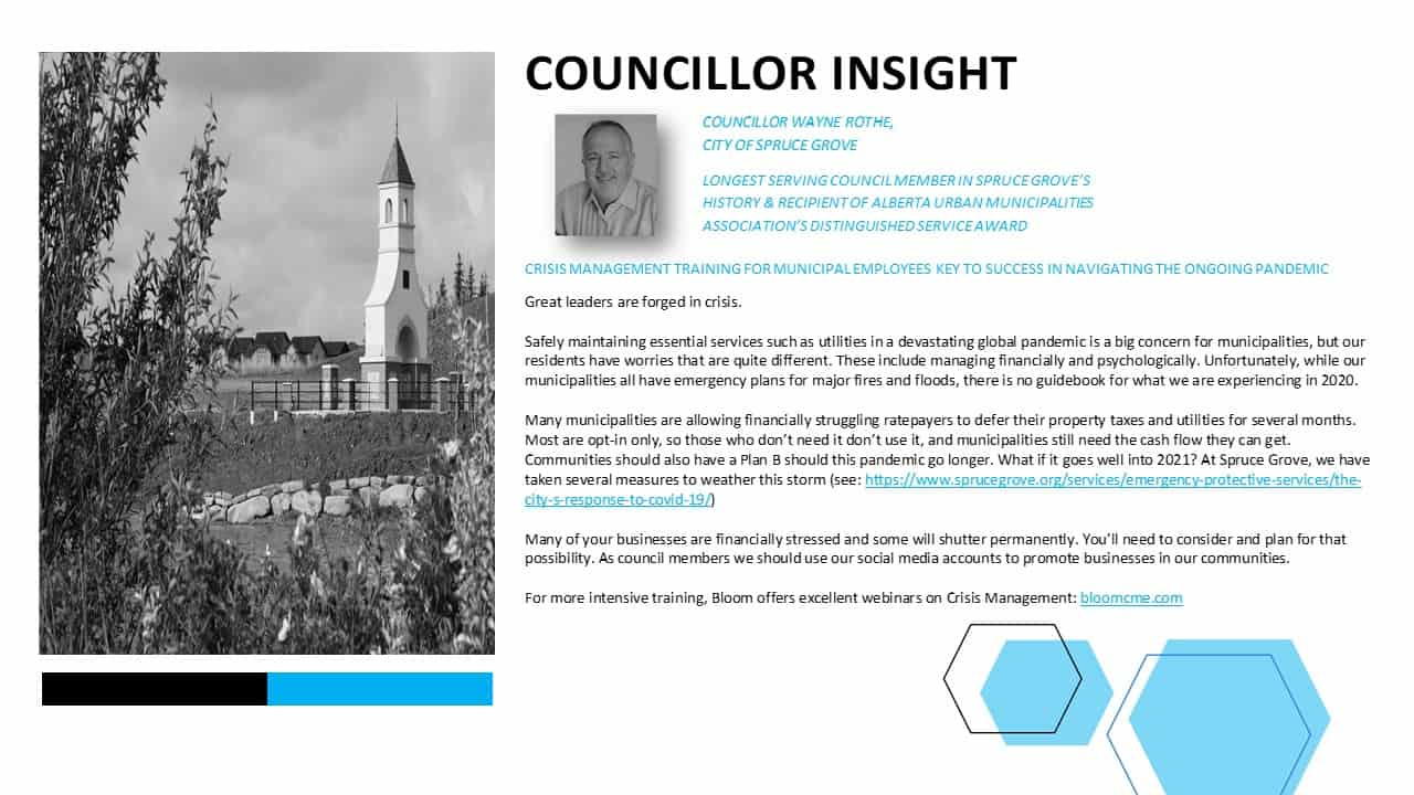 Councillor Insight - Great Leaders are Forged in Crisis