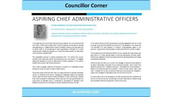 Councillor Corner 2