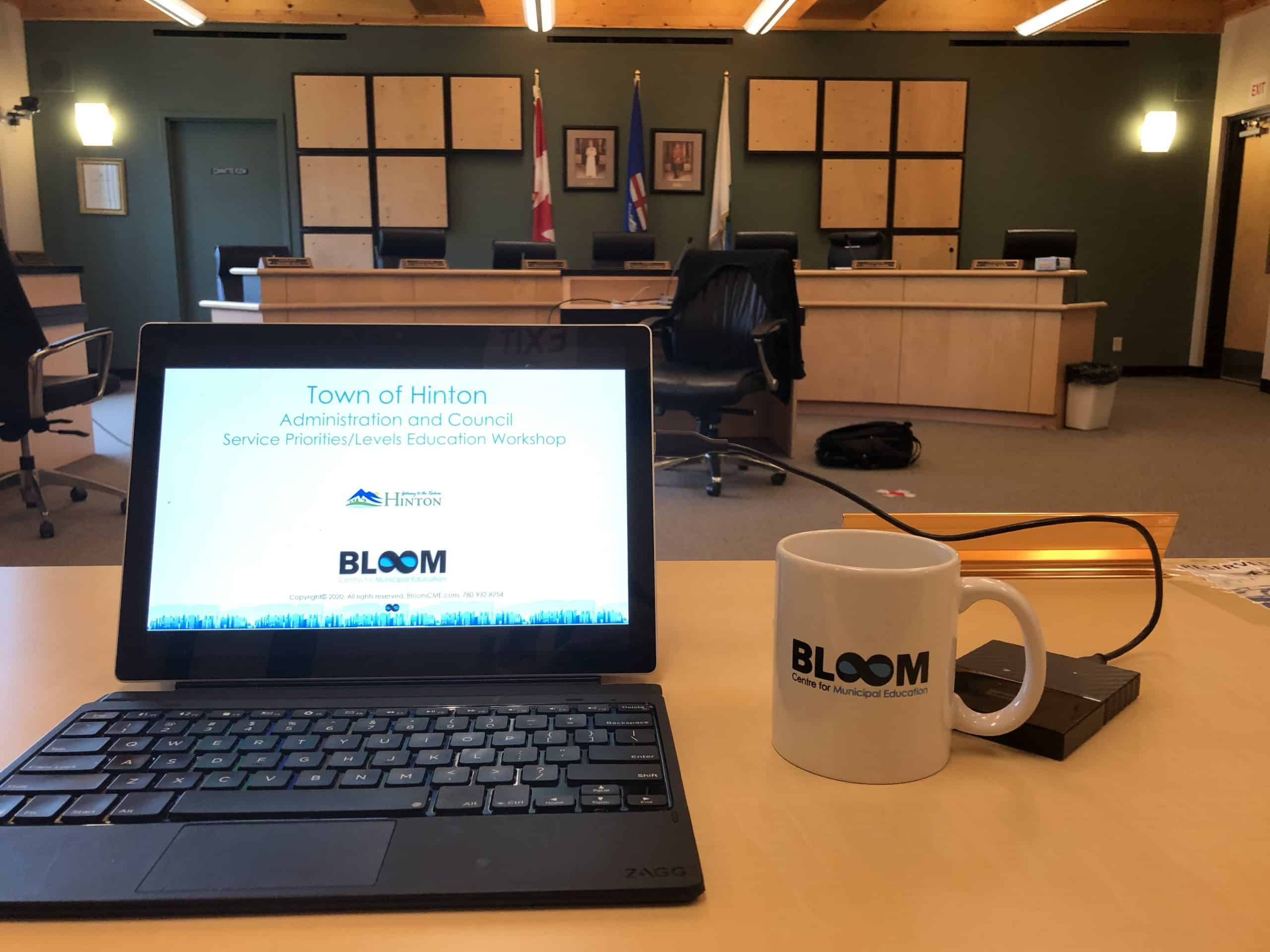 Town of Hinton - Service Priority Session
